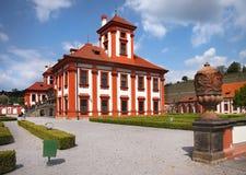 Romantische Chateau Praag royalty-vrije stock foto's