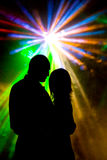 Romantische Dans Royalty-vrije Stock Afbeelding