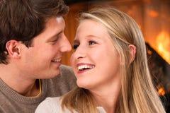 Romantische datum Stock Foto's