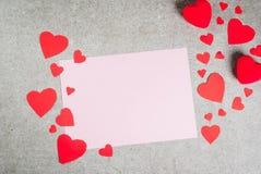 Romantische de Dagachtergrond van Valentine ` s stock foto
