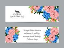 Romantische Einladung Stockfotos