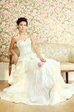 Romantische fällige Braut Lizenzfreie Stockfotos