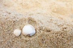 Romantische Ferien durch das Meer Stockbild