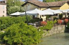 Romantische Gaststätte Stockbild