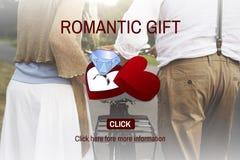 Romantische Gift Ring Surprise Romance Concept Royalty-vrije Stock Fotografie