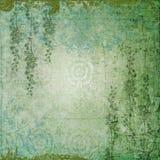 Romantische Groene Tuin Royalty-vrije Stock Foto's