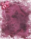 Romantische grunge Stock Afbeelding