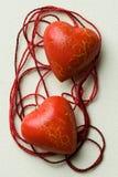 Romantische harteninzameling Stock Foto's