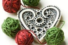 Romantische harteninzameling Royalty-vrije Stock Afbeelding