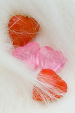 Romantische harteninzameling Stock Afbeeldingen