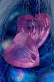 Romantische harteninzameling Stock Foto