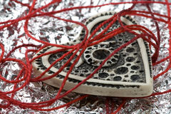 Romantische harteninzameling Royalty-vrije Stock Fotografie
