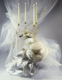 Romantische huwelijksreeks Royalty-vrije Stock Foto