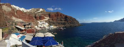 Romantische Insel Griechenland Santorini Stockfotografie