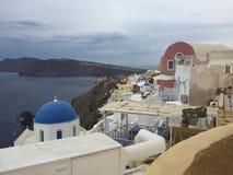 Romantische Insel Griechenland Santorini Lizenzfreie Stockbilder