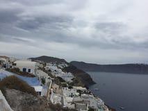 Romantische Insel Griechenland Santorini Lizenzfreie Stockfotos