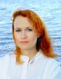 Romantische junge Frau Lizenzfreie Stockbilder