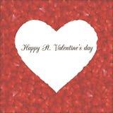 Romantische kaart 2 Royalty-vrije Stock Foto