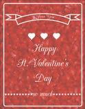 Romantische kaart 3 Royalty-vrije Stock Fotografie