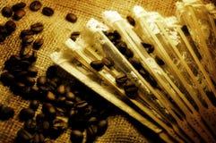 Romantische Kaffeezeit Stockfoto