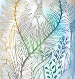Romantische kleurrijke bloemachtergrond royalty-vrije illustratie