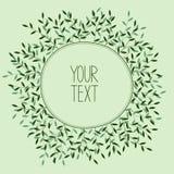 Romantische kroon met plaats voor uw tekst Stock Foto's