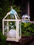Romantische lantaarn Royalty-vrije Stock Afbeelding