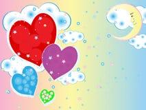 Romantische Liebe Stockfoto