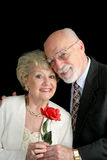 Romantische ältere Paare Lizenzfreie Stockbilder