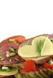Romantische maaltijd Royalty-vrije Stock Afbeeldingen