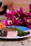 Romantische Mahlzeit stockfotografie