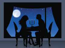Romantische mening. royalty-vrije illustratie