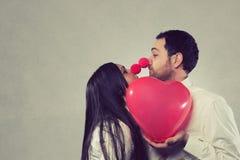 Romantische Minnaars Stock Foto