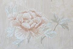 Romantische mit Blumentapete Rose Lizenzfreie Stockfotos