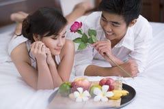 Romantische ochtend Royalty-vrije Stock Foto