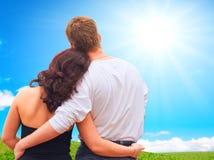 Romantische ogenblikken Royalty-vrije Stock Afbeeldingen
