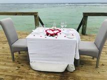 Romantische opstelling stock foto