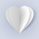 Romantische origami vector illustratie