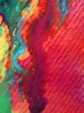 Romantische overstroming van de van de achtergrond waterverfkunst de abstracte kleurrijke geweven vlekkenvlek Stock Afbeelding