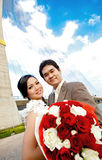 Romantische paren Stock Foto