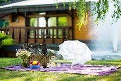 Romantische Picknick Royalty-vrije Stock Foto