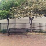 Romantische Plätze Stockfoto