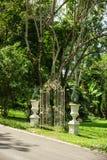 Romantische poort Stock Afbeeldingen