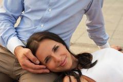 Romantische Porträts Lizenzfreie Stockfotografie