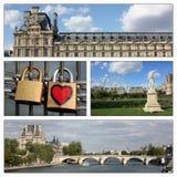 Romantische Reise, Paris, Frankreich Stockfotografie