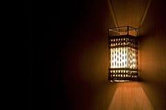 Romantische Retro- Beleuchtung Lizenzfreies Stockfoto