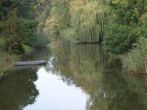 Romantische rivier Royalty-vrije Stock Foto