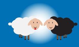 Romantische schapen Royalty-vrije Stock Fotografie