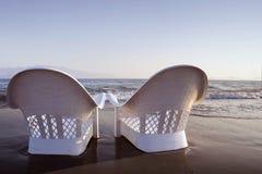 Romantische sea-shore royalty-vrije stock afbeeldingen