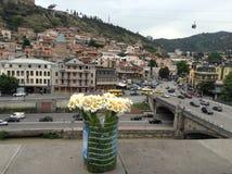 Romantische Stadt Stockbild